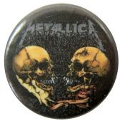 Metallica - 'Sad But True' Button Badge